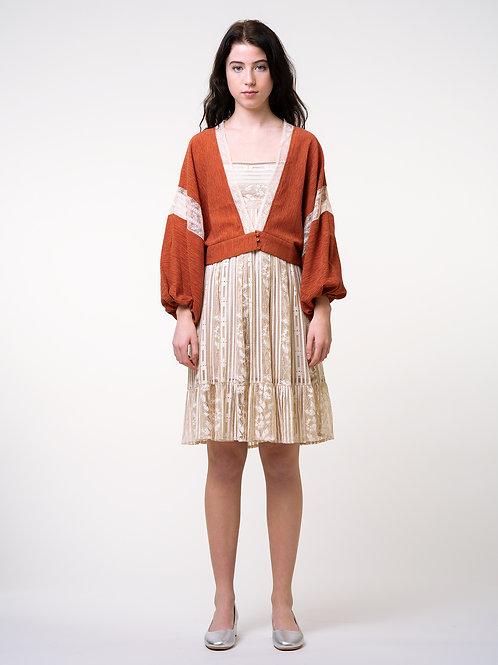 MOLIFUSU | Orange Sahara Star Kimono