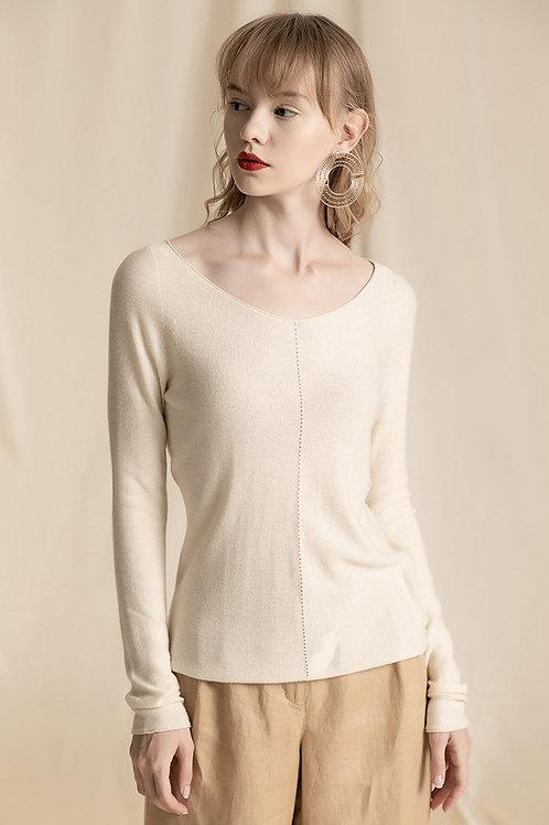 Ecru Emissary | Beige Mari Sweater
