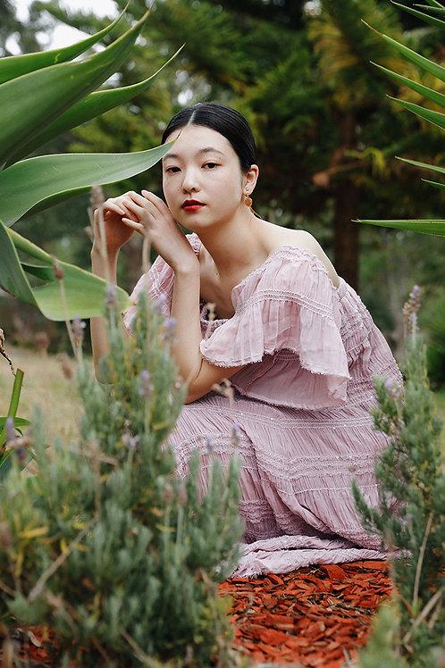 MoliFusu | Purple Snow Dress