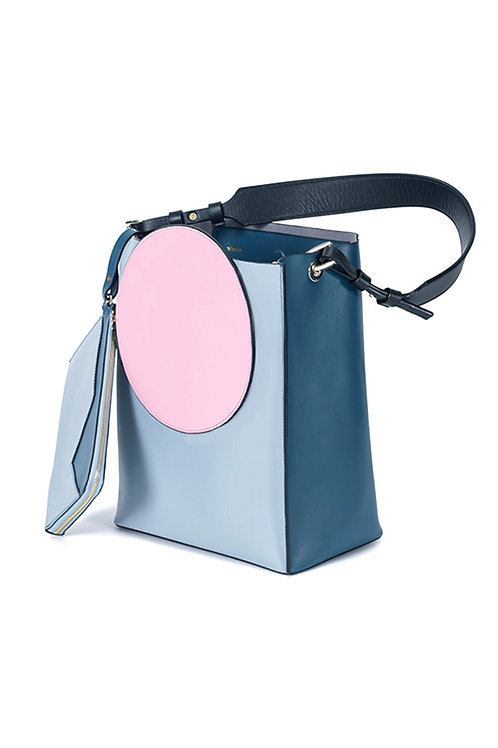 Incomplete | Pink Circle Tote
