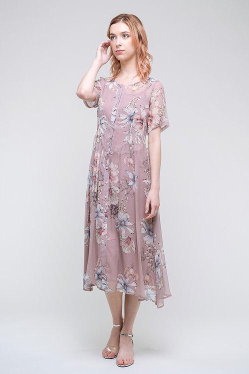 Ecru Emissary | Salome Midi Dress