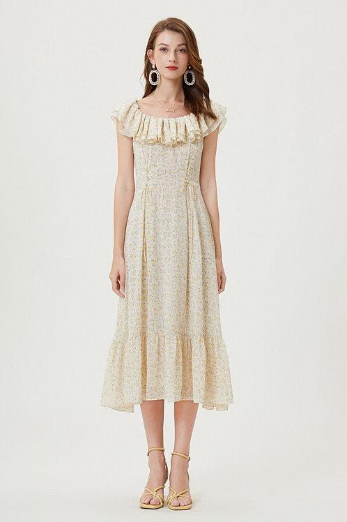 Sylphide | Forsythia Ruffle Dress