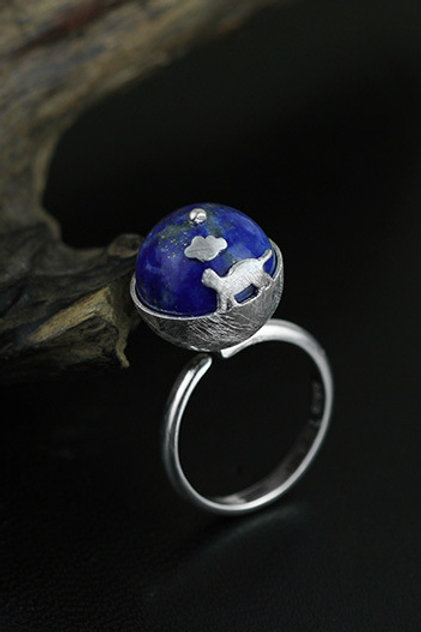 Dreaming Kitty Ring