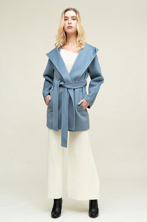 Ecru Emissary   Blue Danae Coat