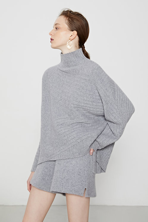 Ecru Emissary | Grey Andi Cashmere Blend Sweater