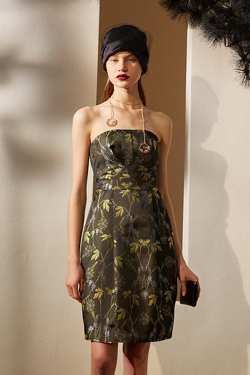 Rimless | Deep Reseda Green Tube Dress