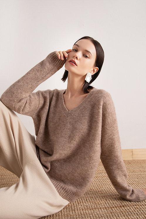 Ecru Emissary | Wool & Alpaca Blend Sweater