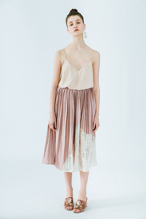 MOLIFUSU   Pale Mauve Twilight Skirt