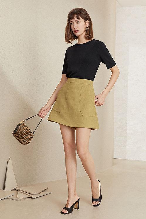 FANSILANEN | Ginger Yellow Shorts