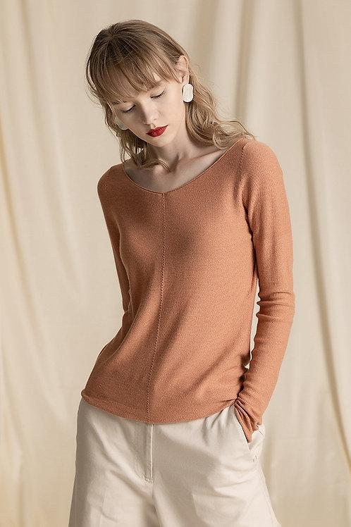 Ecru Emissary | Orange Mari Sweater