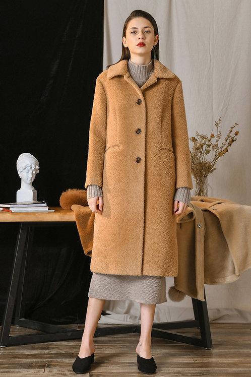 Ecru Emissary | Alpaca Coat