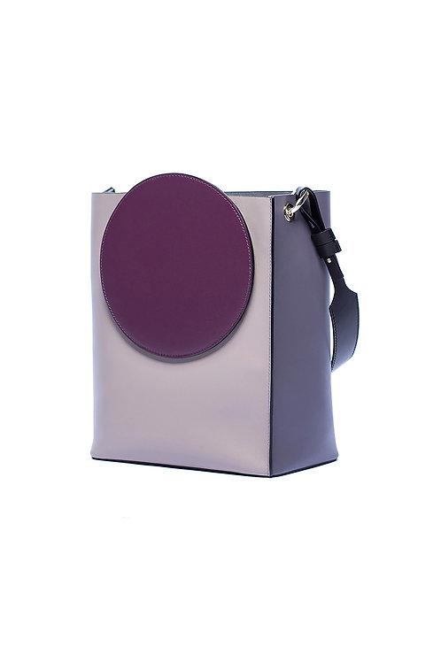 Incomplete | Purple Circle Tote