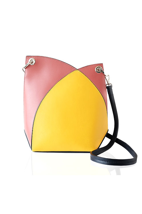 Incomplete |  Yellow Flower Bud Crossbody