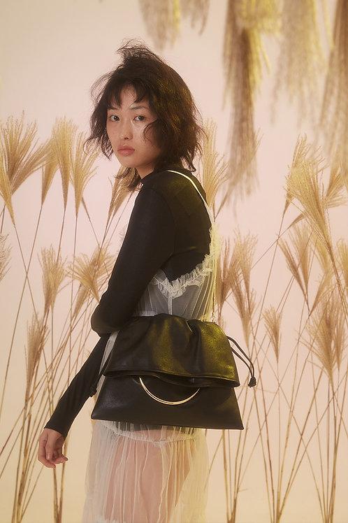 Kitayama Studio | Black Ring Handle Bag