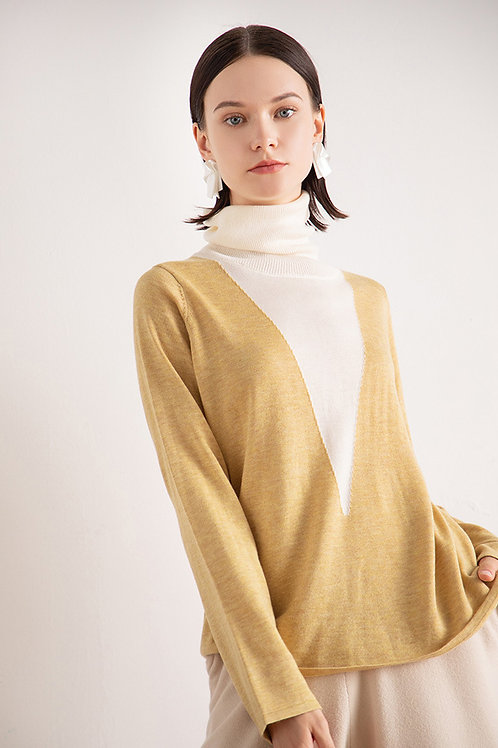 Ecru Emissary | Yellow Stasia Knit