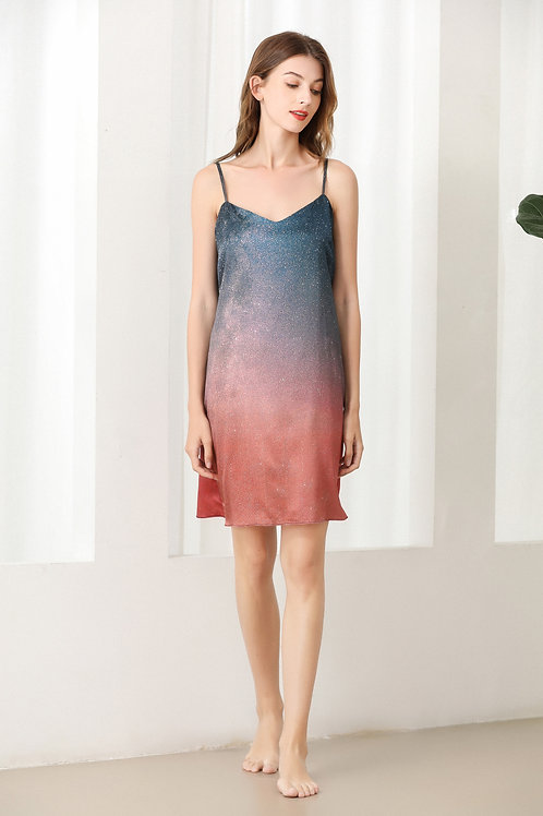 Lykke Home   19 Momme Mulberry Silk Starry Dress