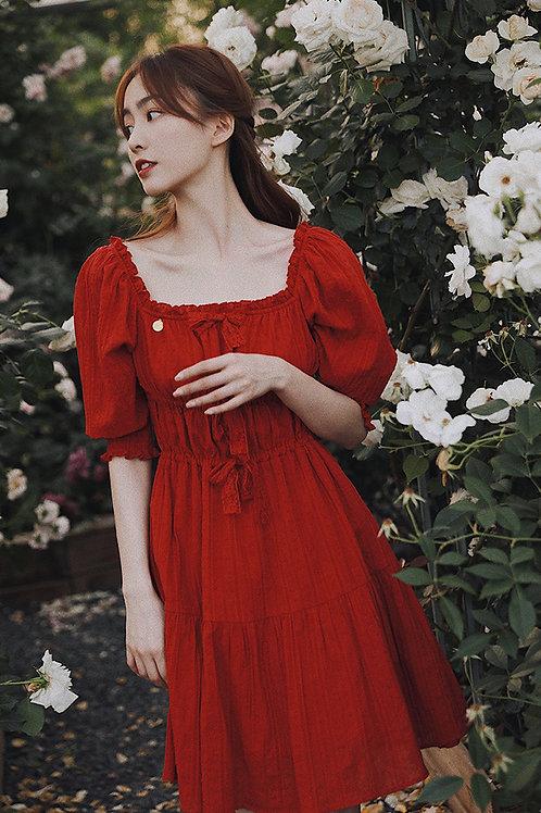 Molifusu | Rose Lady Dress