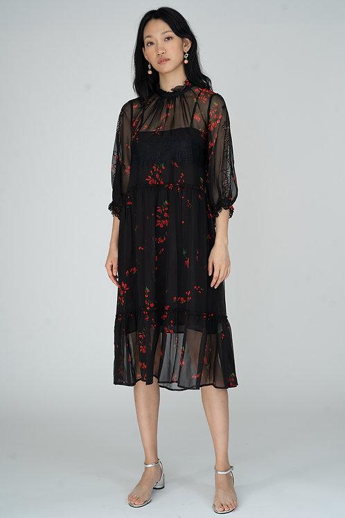 Ecru Emissary | Jocelyn Silk Dress