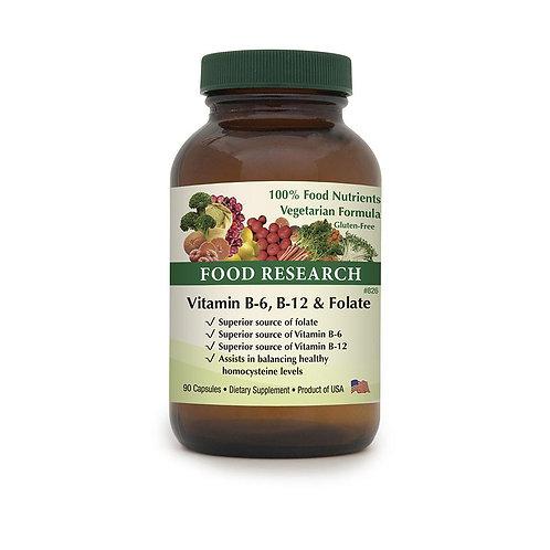 Vitamin B-6, B-12 & Folate