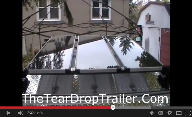 Solar Panel teardrop