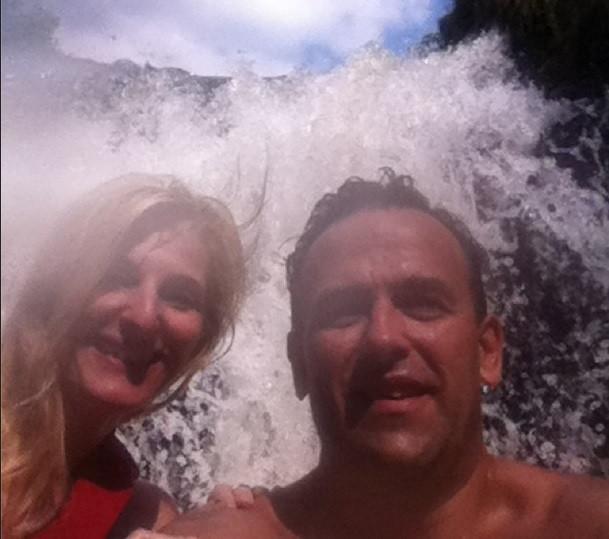 Steve and Mandy at Rockwood Conservation