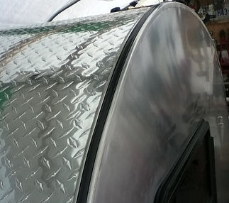 checker plate roof