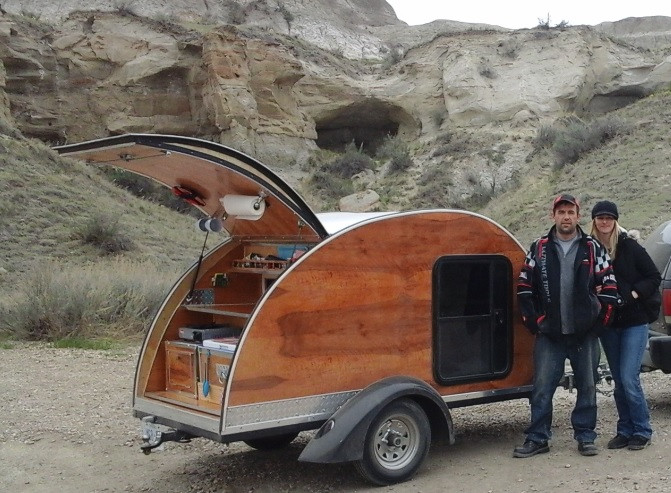 Woody at Dinosaur Provincial Park