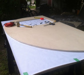 3/4 inch plywood for the teardrop trailer