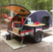 black diamond deluxe Teardrop trailer