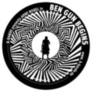 Sticker BEN GUN BEGINS