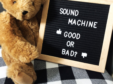 Should I use a sound machine for my baby?