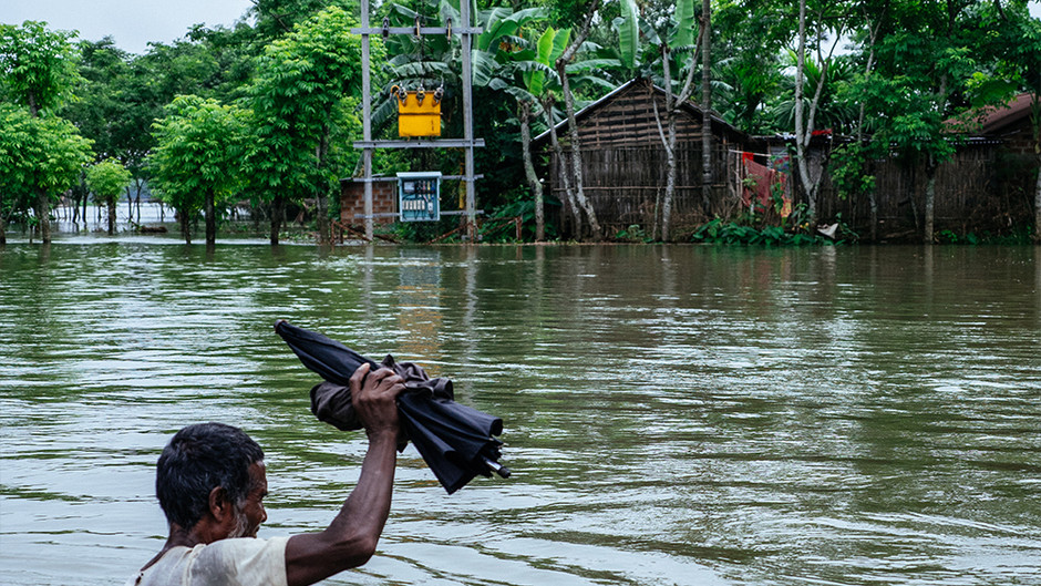 COVID-19 and Floods: A double whammy for Assam