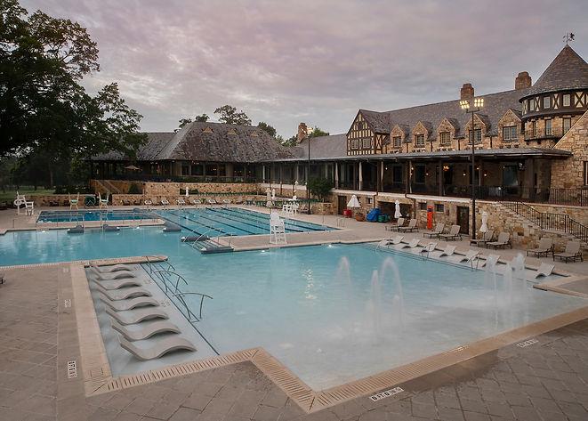 Birmingham CC Finished pool coping