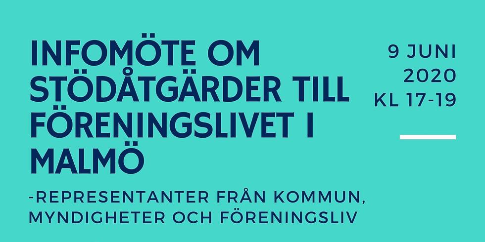 Infomöte om stödåtgärder till föreningslivet i Malmö