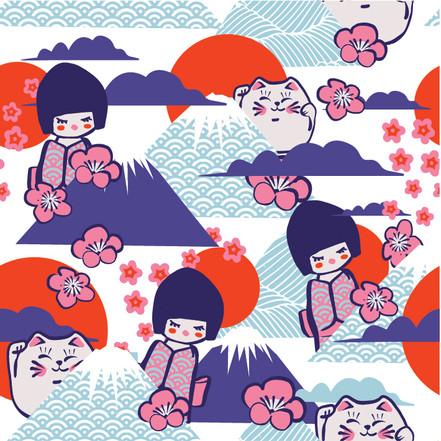 Japanese Baby Print 2
