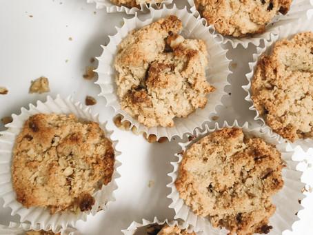 Mini Paleo Cinnamon & Walnut Muffins.
