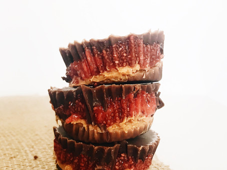 Peanut Butter and Jelly Cups.