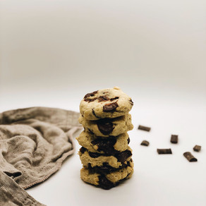 Chocolate Chunk Cookies (GF + DF)!