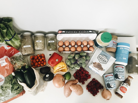 A guide to Grocery Shopping + a printable PDF.