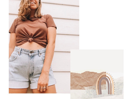 A Guide to Thrift Shopping + A summer look book. (How I style my thrifted finds & the cost).