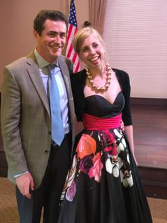 Bridget Hough and Jesse McClintock