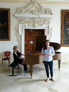 Bridget Hough and Paloma Friedhoff