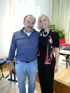 Helmut Deutsch and Bridget Hough
