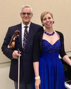 Paul Stein and Bridget Hough
