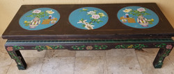 Chinese table clasonne