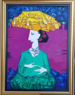 Cundo Bermudez, Oil on Canvas