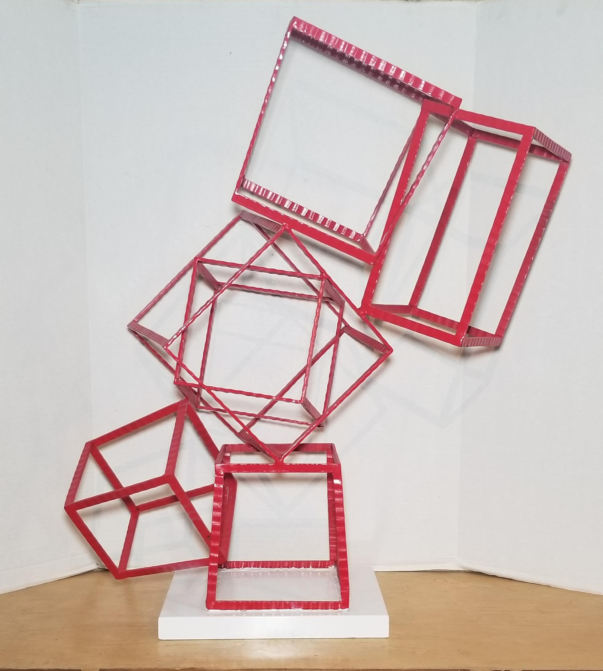 Abstract Art Cubes