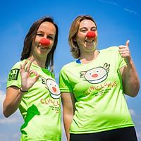 Joke & Tina steunen CliniClowns