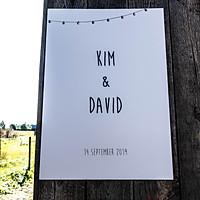 KIM & DAVID