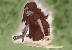 Crouched warrior